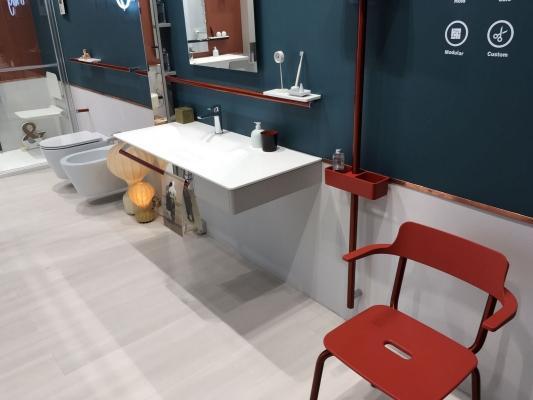 Tendenze nell'arredobagno 2018: il bagno completo, da Ponte Giulio