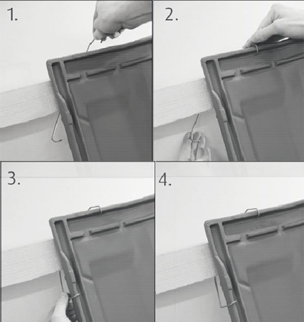 Montaggio delle clip testa/bordo per tegole marsigliesi di San Marco - Terreal
