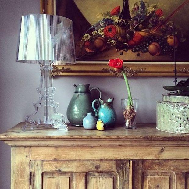 Come abbinare insieme mobili antichi e mobili moderni for Arredamento casa antica