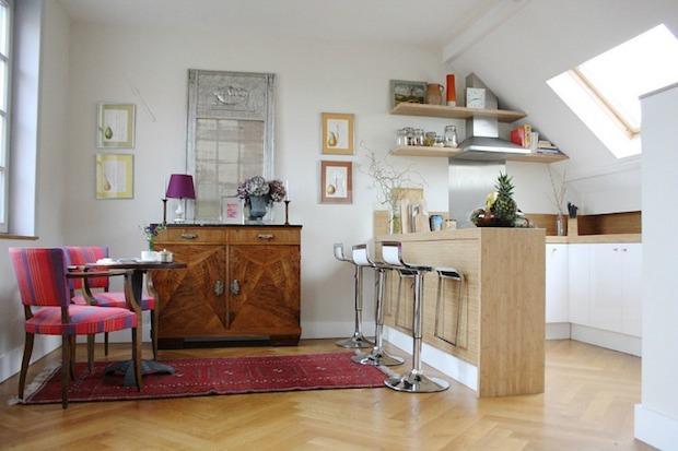 Credenza Antica Per Cucina : Come abbinare insieme mobili antichi e moderni