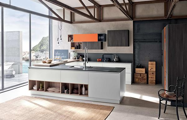 Cucina stosa replay top laminato