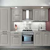 Cucina e top in vetro by Leroy Merlin
