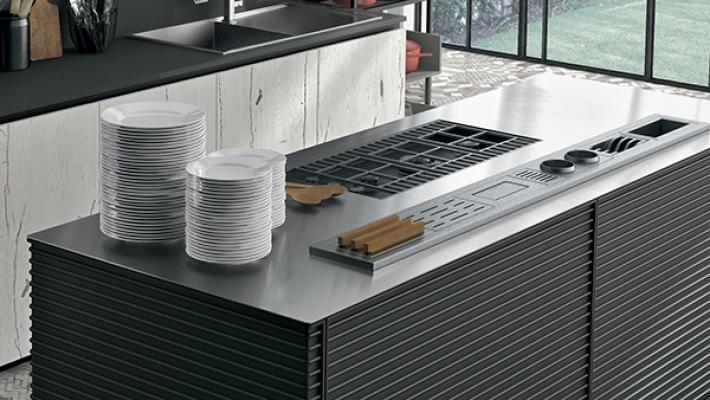 Piano cucina come sceglierlo in base a tipologie e - Top cucina in cemento ...