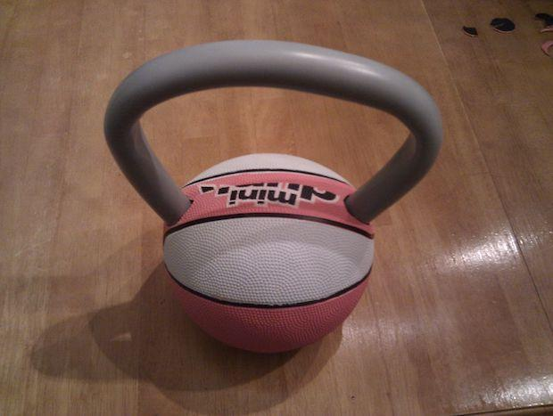 Kettlebell in versione fai da te, da instructables.com