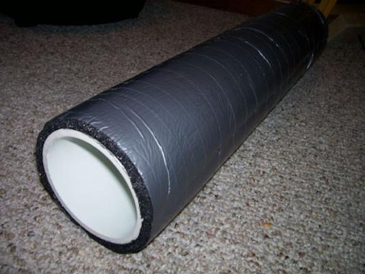 Basta un tubo in pvc e un tappetino in schiuma per realizzare un foam roller fai da te