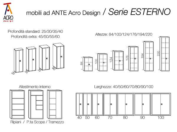 Mobili contenitori per esterno, by Acro Design