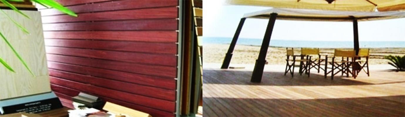 Pavimenti in legno per esterni - Doghe in legno per esterni ...