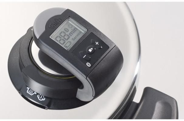 Dettaglio della pentola a pressione Vitavit Edition Digital di Fissler