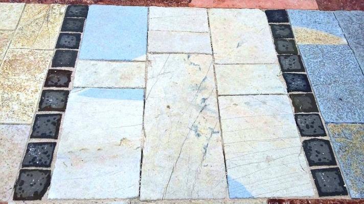 Pietra Ambiente pavimento in pietra multicolor