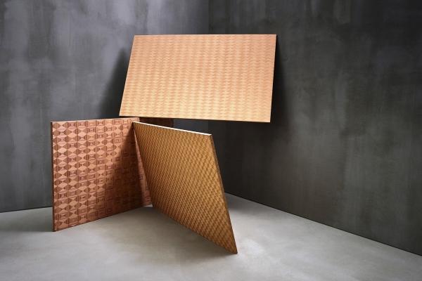 Alpi pannelli decorativi con effetti geometrici