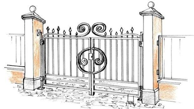 Cancelli in ferro decorati: un'idea da realizzare in fai da te