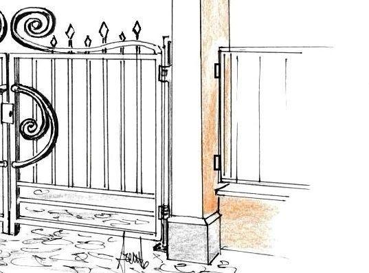 Cancello in ferro decorato: realizzazione fai da te
