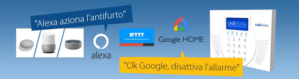 Siqura Compatibile con Alexa, Google Home e IFTTT