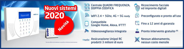 SIQuRA Wifi la nuova centrale d'allarme 2020