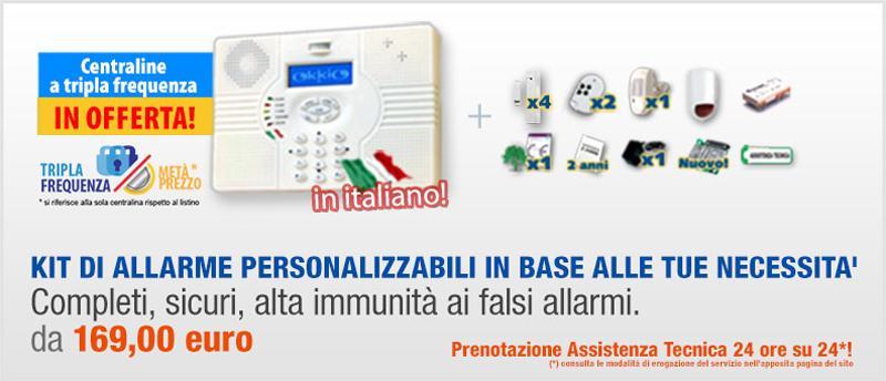 Kit allarme personalizzabile - Casasicura.it