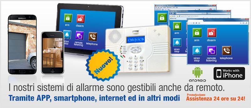Kit di allarme antifurto senza fili per la casa - Antifurto per casa senza fili ...