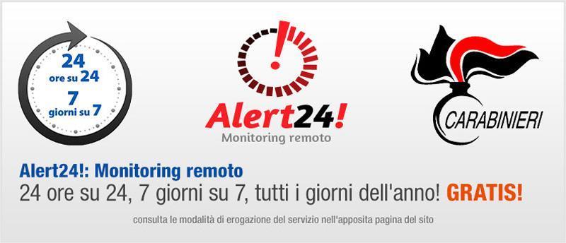 Monitoraggio antifurto - Casasicura.it