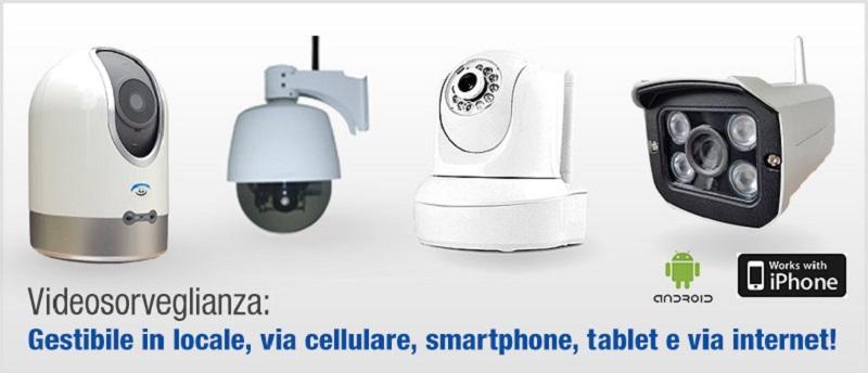 Telecamere per impianto d'allarme Sicurezza.pro