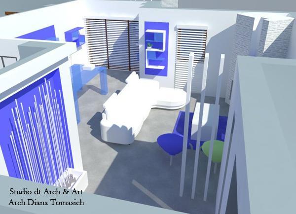Rinnovo soggiorno in Urban style