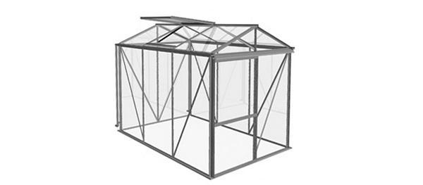Progetto della serra casetta Little di Bericaserre