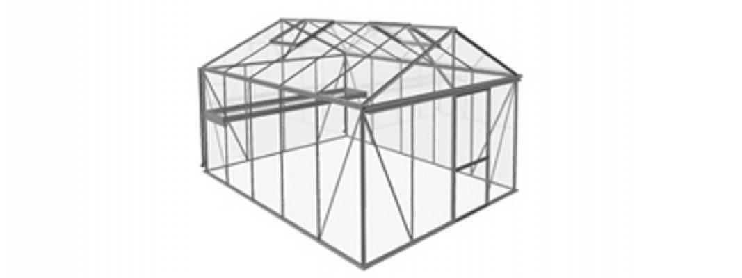 Progetto della serra casetta Small di Bericaserre