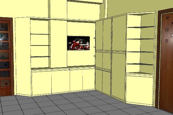 Riorganizzare lo spazio con un mobile contenitore