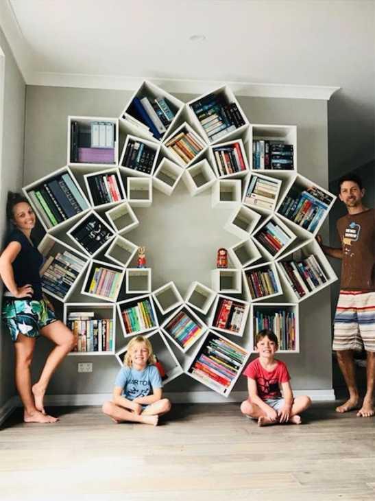 Libreria fai da te, risultato finale, da jessandsinclairfortheblock