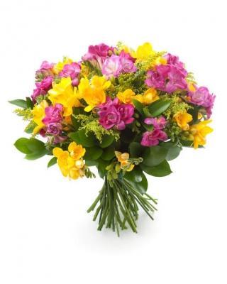 Per il loro profumo forte e dolce le fresie sono molto usate nei bouquet