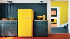 I più bei modelli di frigoriferi colorati e da colorare