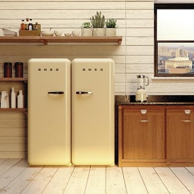frigoriferi colorati per una casa di tendenza. Black Bedroom Furniture Sets. Home Design Ideas