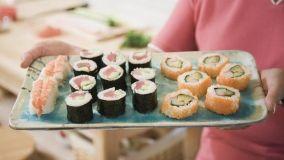 Sushi in casa: attrezzatura e presentazione in tavola