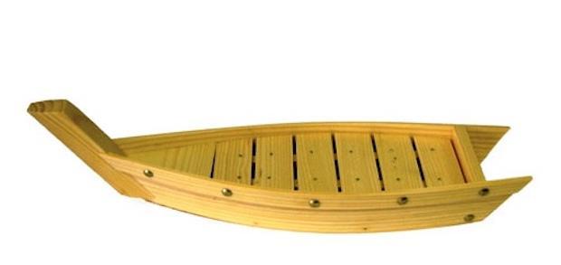 Barca per sushi, da Kathay
