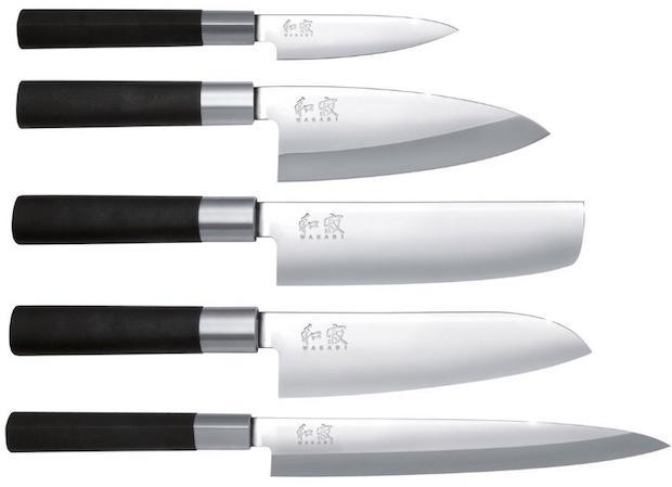 Set coltelli sushi, da Kai