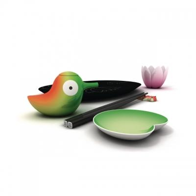 Set per presentare il sushi in tavola, da Alessi