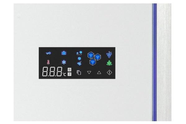 Display del frigorifero a 4 porte Sharp