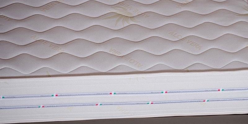 Dettaglio del materasso Cristel di Lamantin