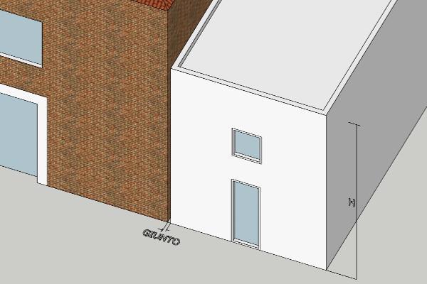 Giunto tecnico tra edifici in zona sismica