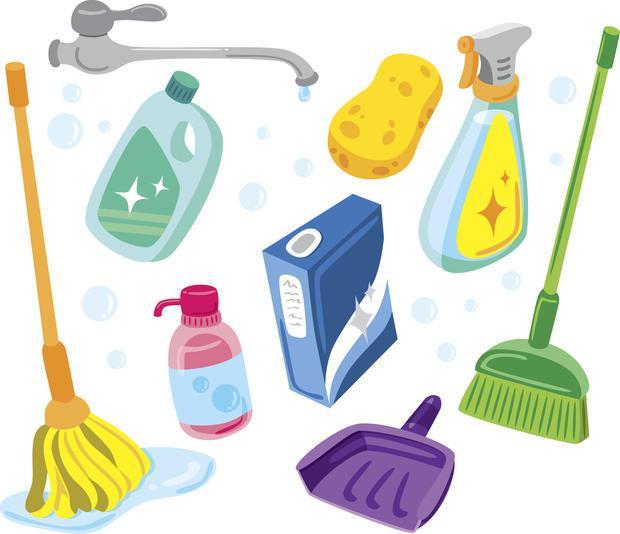 I prodotti per la pulizia domestica sono tra le fonti inquinanti più comuni.