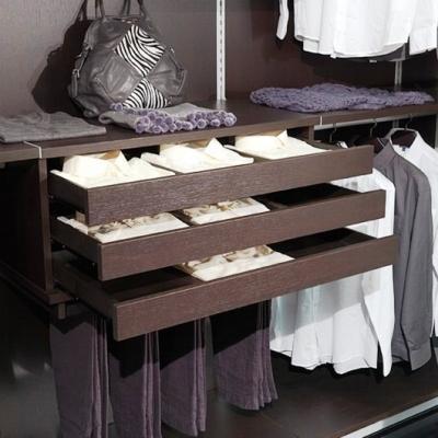 Kuboline by Tosetti: cassettiera per cabina armadio