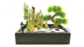 Fontane da interni in stile zen