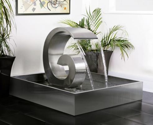Fontana da salotto Curly Swirly commercializzata da Primrose