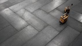 Piastrelle in pietra lavica