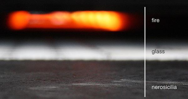 Ciclo produttivo delle piastrelle di lava rifusa di NeroSicilia