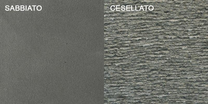 Piastrelle di pietra vulcanica Lava by Salvatori