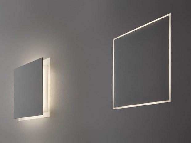 Illuminazione da parete a led di design, da Panzeri