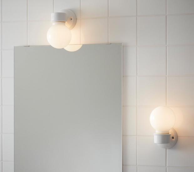 Applique da parete per il bagno, da Ikea