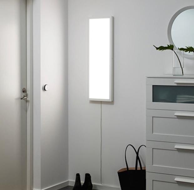 Lampade da parete a led, da Ikea