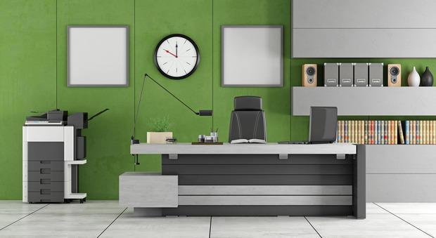 Il verde in ufficio dona relax