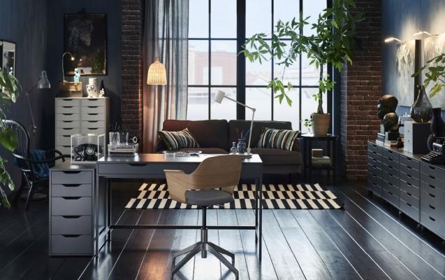 I colori scuri infondono stabilità e autorevolezza, da Ikea
