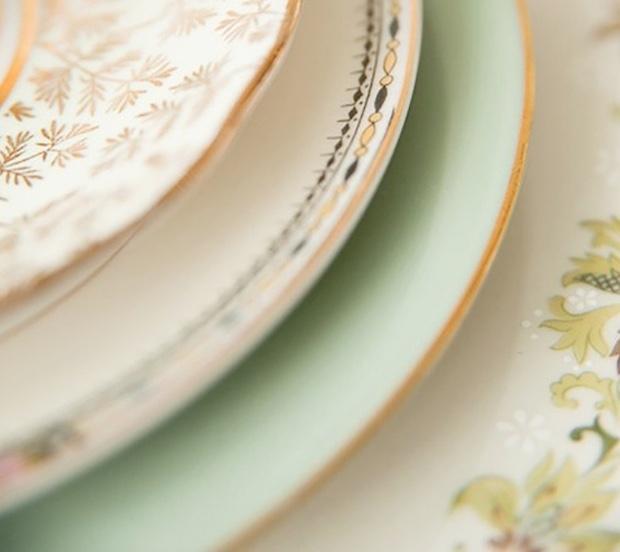 Scegliere i piatti diversi in base al pattern, da freutcake.com